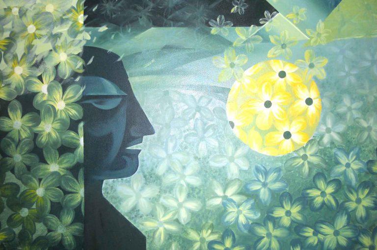 FDN Life Magazine - Issue 1 - Meet Contemporary Artist Indu Nagda From India - Artwork by Indu Nagda