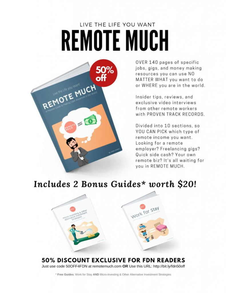 FDN AD > Live The Life You Want - Remote Much 1