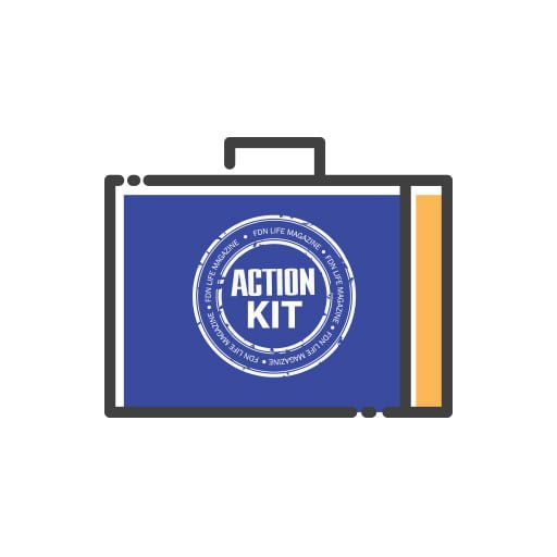 FDN Life Action Kit Icon - Copyright by FDN Life and FDN Life Magazine and Marie-Berdine Steyn
