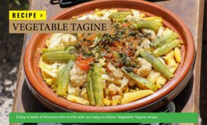 Vegetable Tagine Recipe for busy Digital Nomads or Freelancers
