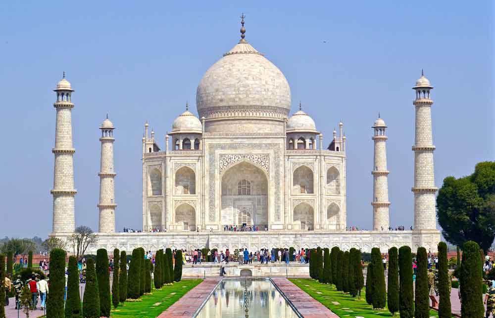 Taj Mahal India Digital Nomads