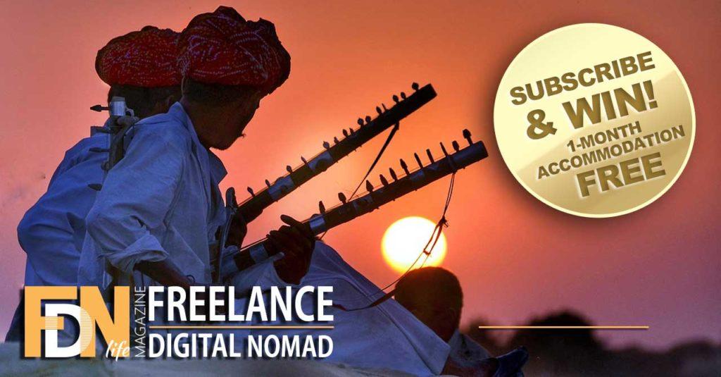 FDN Life Magazine - Rajasthan India - Win 1-Month Free Accommodation