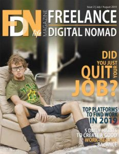 FDN Life Magazine - Issue 2 - Jul-Aug 2019 - A Magazine dedicated to freelancers, digital nomads, remotes and location independents from around the world