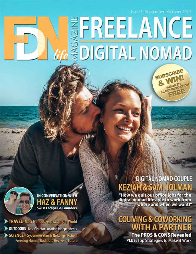FDN Life Magazine - Issue 3 - Sept to Oct 2019 - A Magazine dedicated to freelancers, digital nomads, remotes and location independents from around the world