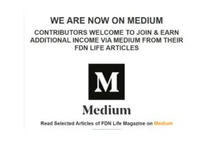 FDN Life and FDN Life Magazine is Now On Medium.com