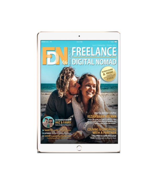 Read the 3rd issue of FDN Life Magazine - the premium work and lifestyle magazine by and for freelancers, digital nomads, remotes and location independents