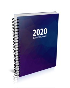 MBS 2020 Business Planner - Colorful Hezagon Cover - Option 1