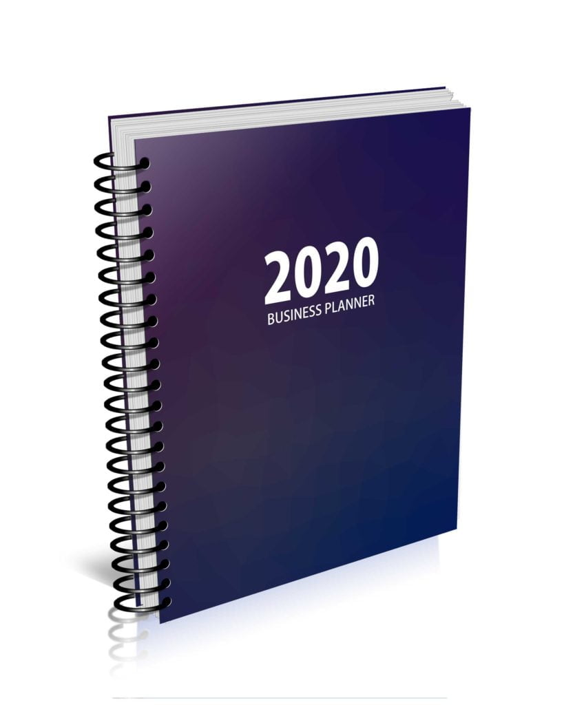 MBS 2020 Business Planner - MBS Colors Hezagon Cover - Option 2