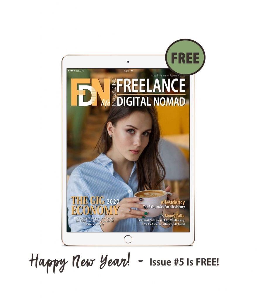FDN Life Magazine - January to February 2020 Issue 5 - Magazine for Digital Nomads - The Free Issue