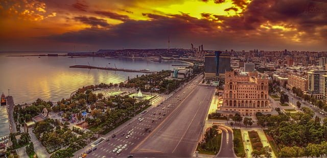 Issue 5 - FDN Life Magazine - THE TOP 3 COUNTRIES THAT OFFER E-RESIDENCY - Baku in Azerbaijan