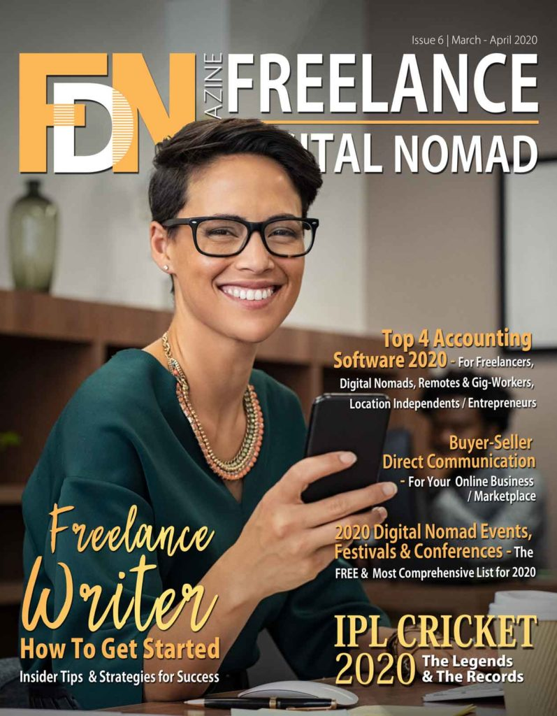 FDN Life Magazine - March - April 2020 Issue 6 - Magazine for Digital Nomads, Freelancers, Remotes, Gig-Workers and Location Independents
