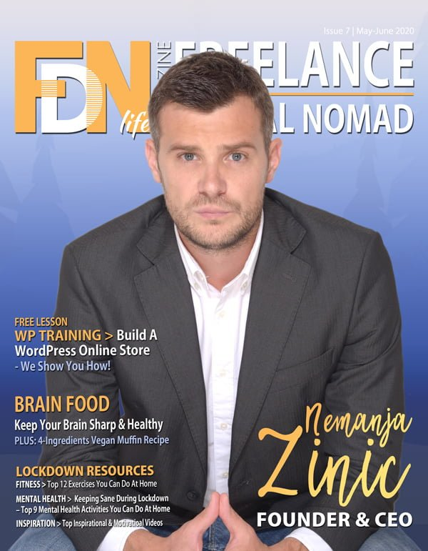 FDN Life Magazine - May to June 2020 Issue 7 - Magazine for Digital Nomads, Freelancers, Remotes, Gig-Workers and Location Independents