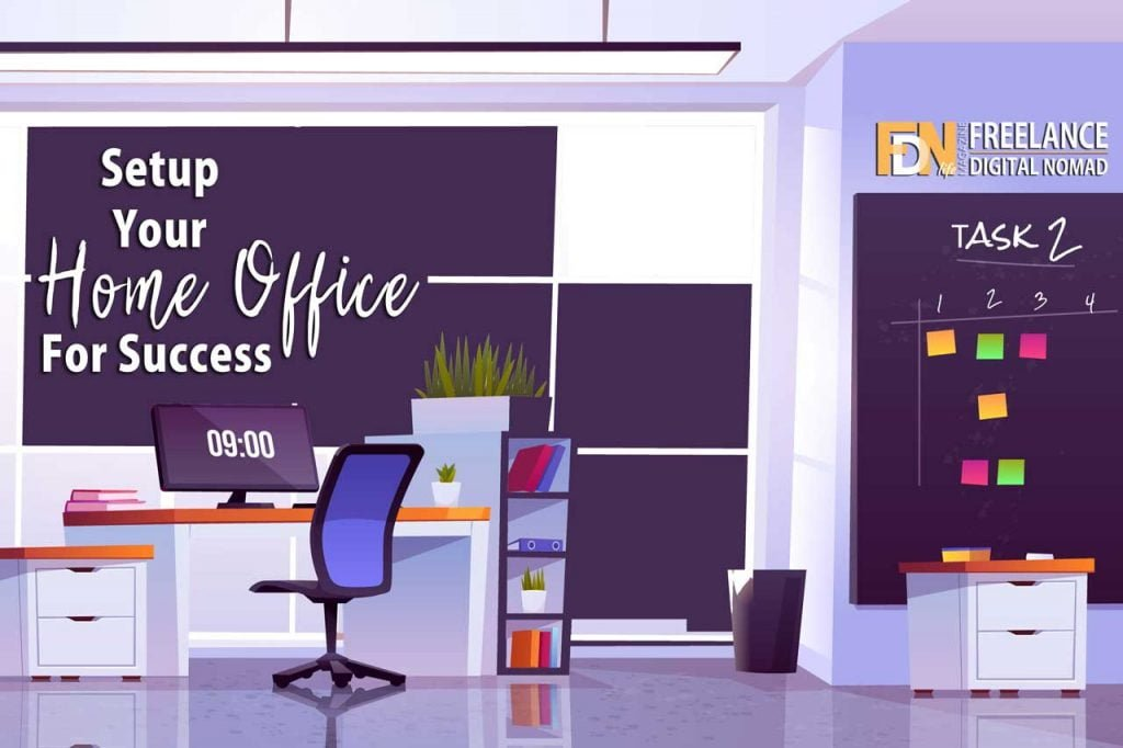 FDN Life Magazine - Issue 8 - July to September 2020 - Setup your home office for success