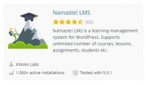 Creating A Quality Online Learning Platform With NAMASTE! LMS 8