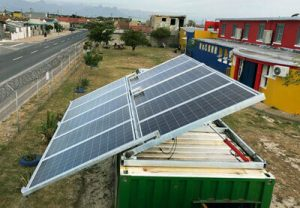 Automatic SolarTurtle Hub (Container - Cape Town, South Africa)