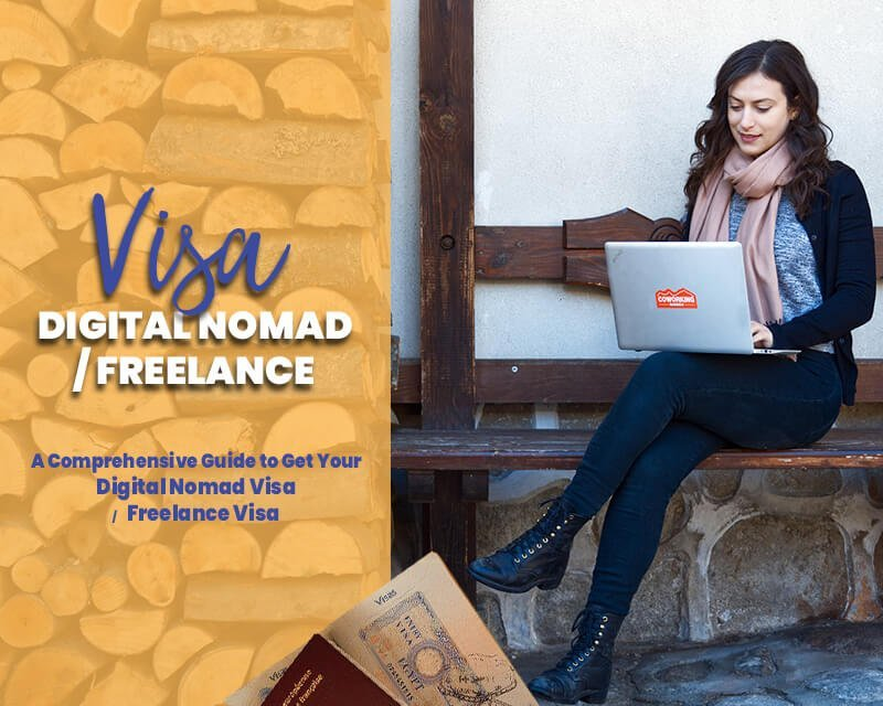 FDN Life Magazine features an article on the DIGITAL NOMAD VISA | FREELANCE VISA > A Comprehensive Guide for 2021 and beyond.
