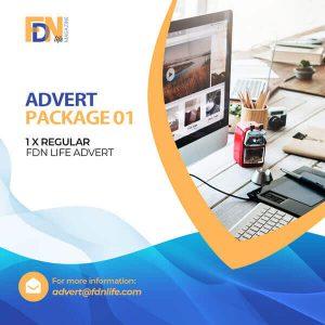 FDN Life 1 Regular Adverts Package