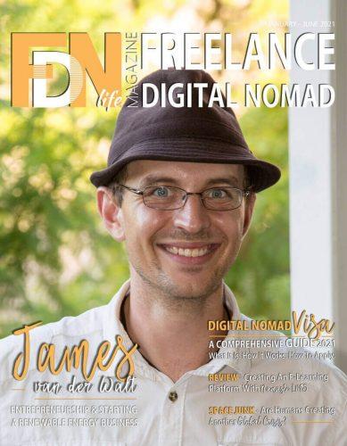 FDN Life Magazine - January to June 2021 - James van der walt - THE TURTLE KEEPER - Starting A Renewable Energy Business